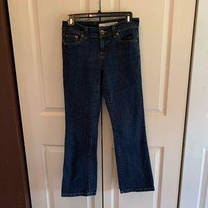 DKNY Jeans size 4L bootcut dark blue